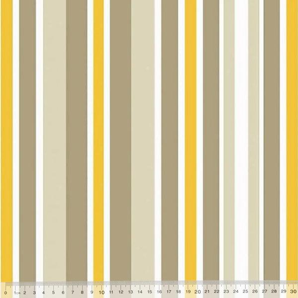Tecido Impermeável Acquablock® Karsten - Guarapuá Amarelo - 72% Algodão 28% Poliéster - Largura 1,40m