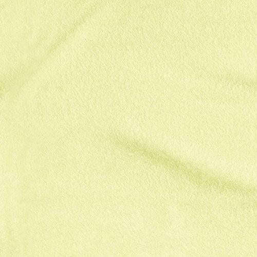 Tecido Atoalhado Liso - Amarelo Claro - 100% Algodão - Largura 1,40m