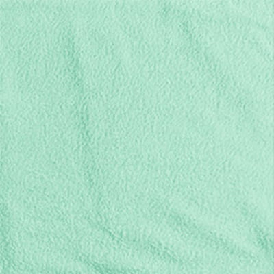 Tecido Atoalhado Liso - Verde Suave - 100% Algodão - Largura 1,40m