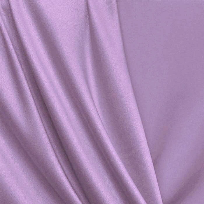 Tecido Cotton Satin / Sarja com Elastano Liso - Lilás - 97% Algodão 3% Elastano - Largura: 1,50m