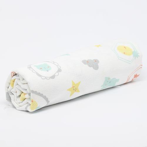 Tecido Flanela Baby - Abacaxi - 100% Algodão - Largura: 80cm