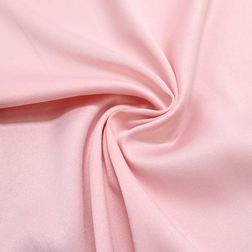 Tecido Gabardine com Elastano - Rosa Claro - 97% Poliéster 3% Elastano - Largura: 1,50m