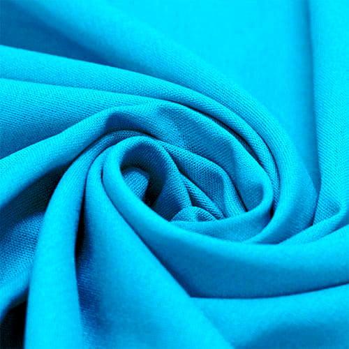 Tecido Linho Com Viscose Liso - Scuba Blue - 55% Linho 45% Viscose - Largura 1,35m
