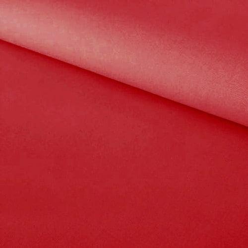 Tecido Percal 230 Fios Liso - Vermelho - 100% Algodão - Largura 2,55m