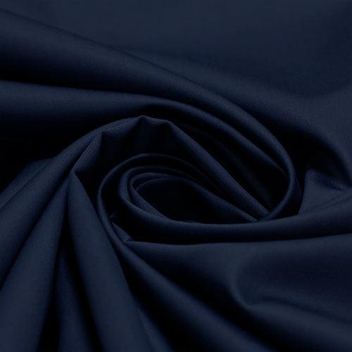Tecido Percal 400 Fios Egípcio - Azul Noite - 100% Algodão - Largura 2,80m