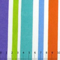 Tecido Tricoline Mista Listras Coloridas I
