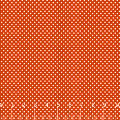 Tecido Tricoline Mista Poá P - Vermelho c/ Branco - 90% Algodão 10% Poliéster - Largura 1,50m