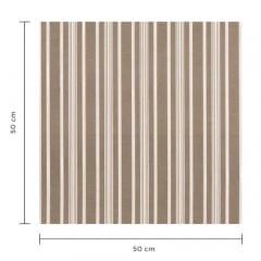 Tecido Impermeável Acquablock® Karsten - Friso Fendi - 72% Algodão 28% Poliéster - Largura 1,40m