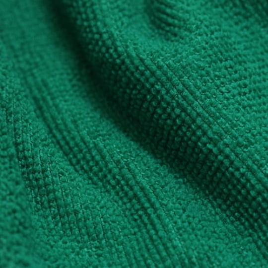 Tecido Atoalhado Felpudo Tropical Liso - Verde - 100% Poliéster - Largura 1,45m