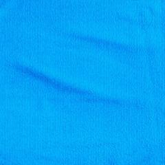 Tecido Atoalhado Liso - Azul Piscina - 100% Algodão - Largura 1,40m