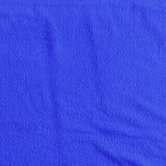 Tecido Atoalhado Liso - Azul Royal - 100% Algodão - Largura 1,40m