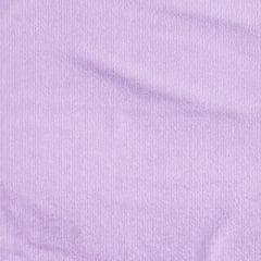 Tecido Atoalhado Liso - Lilás Claro - 100% Algodão - Largura 1,40m