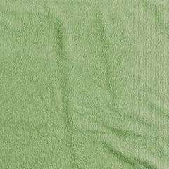 Tecido Atoalhado Liso - Verde Grama - 100% Algodão - Largura 1,40m