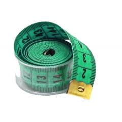 Fita Métrica com Caixa Acrílica - Verde - 1 Un
