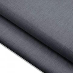 Tecido Fil a Fil Mesclado - Chumbo - 100% Algodão - Largura: 1,50m