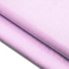 Tecido Fil a Fil Mesclado - Rosa Cherry - 100% Algodão - Largura: 1,50m