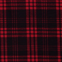 Tecido Flanela Xadrez Madras - Trilhar Vermelho - 100% Algodão - Largura 1,50m