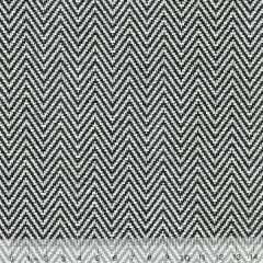 Tecido Jacquard Decor Soft - Mini Zigzag - 58% Algodão 42% Poliéster - Largura 1,40m