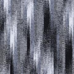 Tecido Jacquard Decor Soft - Brush - Preto - 58% Algodão 42% Poliéster - Largura 1,40m