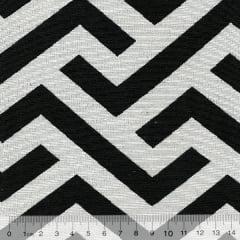 Tecido Jacquard Decor Soft - Modern Stripes - 58% Algodão 42% Poliéster - Largura 1,40m
