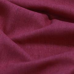 Tecido Linho Com Viscose Liso - Terroso Avermelhado - 55% Linho 45% Viscose - Largura 1,35m