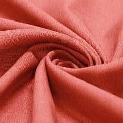 Tecido Linho Com Viscose Liso - Barro - 55% Linho 45% Viscose - Largura 1,35m