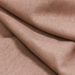 Tecido Linho Com Viscose Liso - Camurça - 55% Linho 45% Viscose - Largura 1,35m