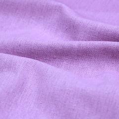 Tecido Linho Com Viscose Liso - Lilás - 55% Linho 45% Viscose - Largura 1,35m