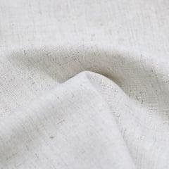 Tecido Linho Com Viscose Liso - Linen Rayon - 55% Linho 45% Viscose - Largura 1,35m