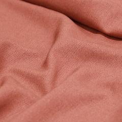 Tecido Linho Com Viscose Liso - Marrom - 55% Linho 45% Viscose - Largura 1,35m