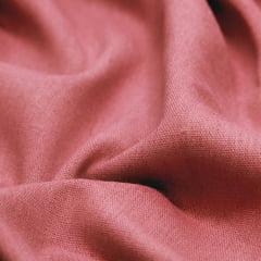 Tecido Linho Com Viscose Liso - Marrom Neutro - 55% Linho 45% Viscose - Largura 1,35m