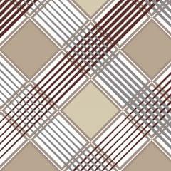 Tecido Percal 130 Fios Cross - Bege - 100% Algodão - Largura 2,45m