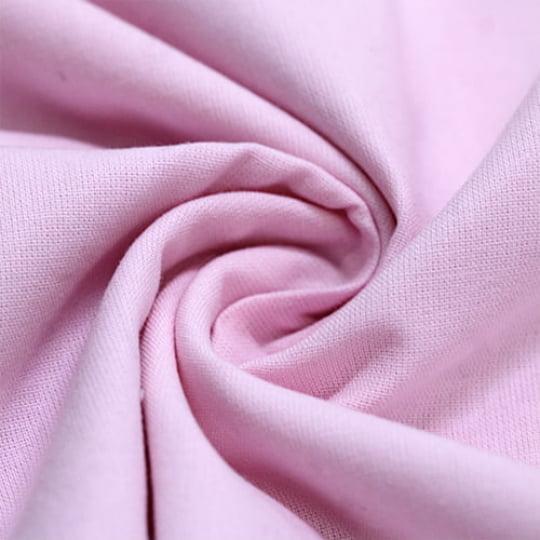 Tecido Percal 150 Fios Liso - Rosa Claro - 100% Algodão - Largura 2,50m