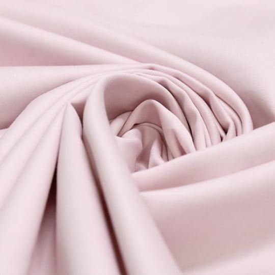 Tecido Percal 400 Fios Egípcio - Rosa Claro - 100% Algodão - Largura 2,80m