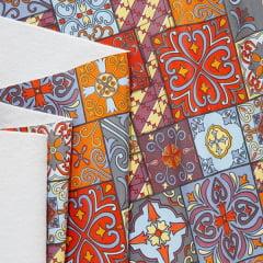 Tecido PVC Estampado Decorelli Arte - Azulejo Português - Largura 1,40m