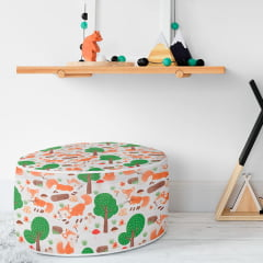 Tecido PVC Estampado Decorelli Arte - Fox - Largura 1,40m