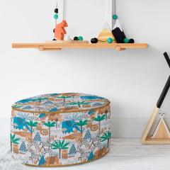 Tecido PVC Estampado Decorelli Arte - Safari - Largura 1,40m