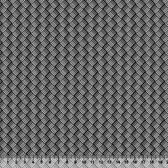 Tecido Tricoline Black Formas Trigger - 100% Algodão - Largura 1,50m