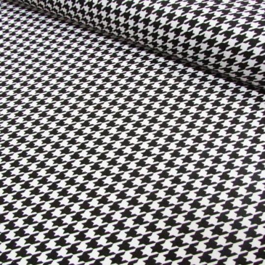 Tecido Tricoline Classic Pied Poule - 100% Algodão - Largura 1,50m
