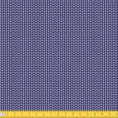 Tecido Tricoline Coleção Arrow - Azul Marinho - 100% Algodão - Largura: 1,50m
