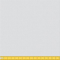 Tecido Tricoline Coleção Arrow - Cinza - 100% Algodão - Largura: 1,50m