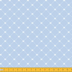 Tecido Tricoline Coleção Classical - Azul Claro - 100% Algodão - Largura: 1,50m