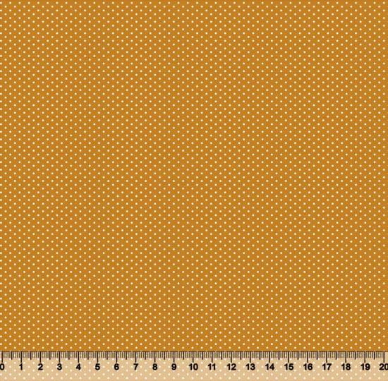 Tecido Tricoline Coleção Composê Ideal Outono - Poazinho - 100% Algodão - Largura 1,50m
