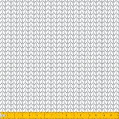 Tecido Tricoline Coleção Soft - Branco - 100% Algodão - Largura: 1,50m