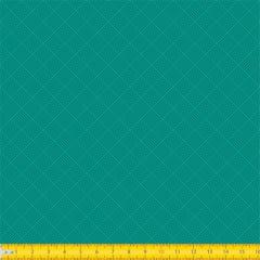 Tecido Tricoline Coleção Tramas - Verde - 100% Algodão - Largura: 1,50m