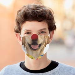 Tecido Tricoline Digital Molde Máscara de Proteção Temáticos - Tamanho P - 14 Estampas/Moldes - 100% Algodão
