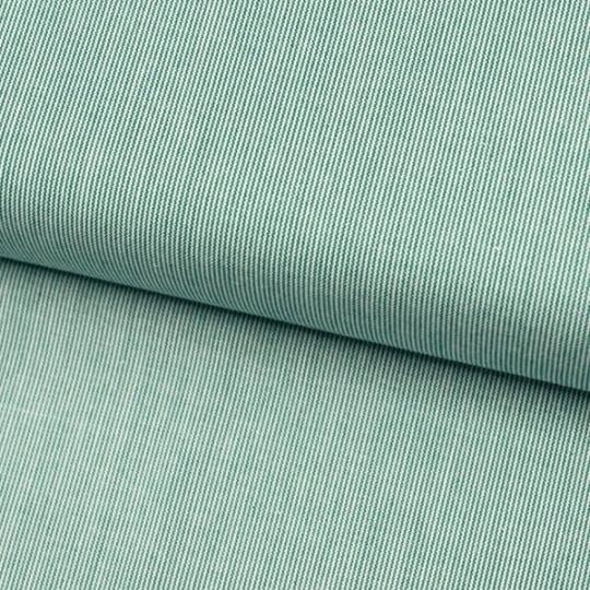 Tecido Tricoline Fio-Tinto Listras PP - Verde Bandeira - 100% Algodão - Largura 1,50m