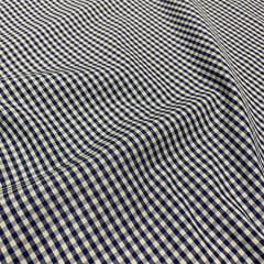 Tecido Tricoline Fio-Tinto Vichy Xadrez M Dual Color - Concreto - 100% Algodão - Largura 1,50m
