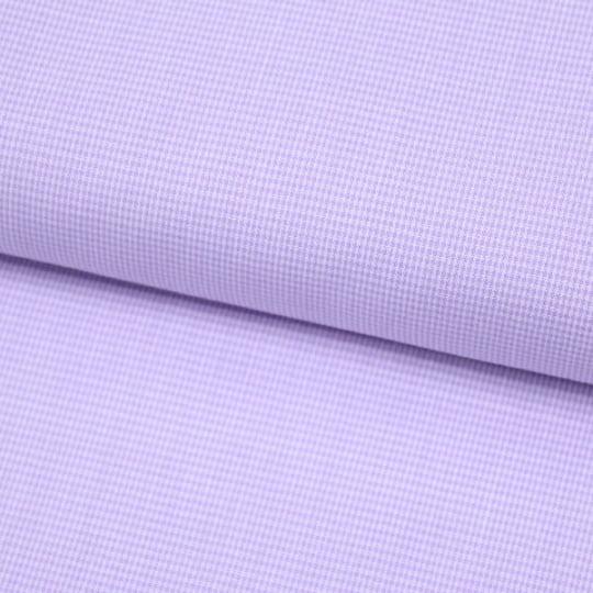 Tecido Tricoline Fio-Tinto Xadrez PP - Lilás - 100% Algodão - Largura 1,50m