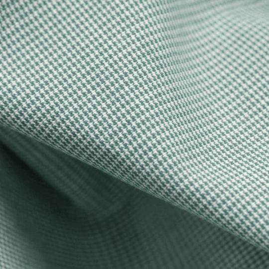 Tecido Tricoline Fio-Tinto Xadrez PP - Verde Bandeira - 100% Algodão - Largura 1,50m
